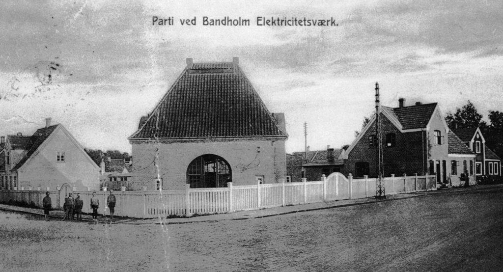 Bandholm Elværk 1913