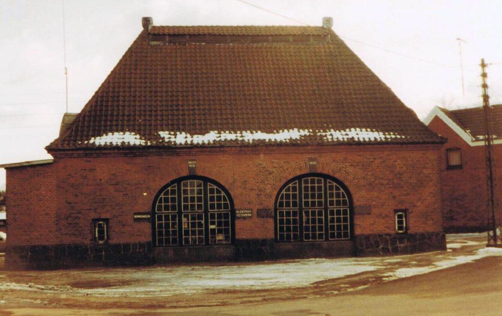 Bandholm Elektricitetsværk ca. 1950