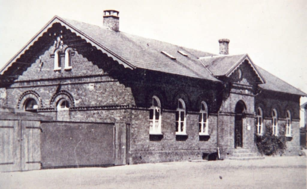 Bandholm station, 1955