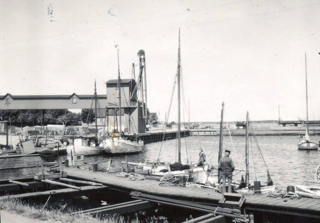 Bandholm havn, 1942
