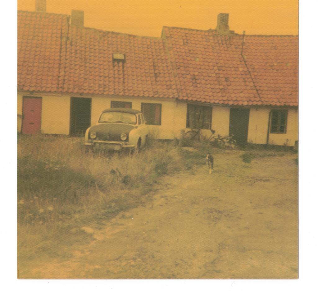 Foto fra Sibirien fra 1975 kort før nedrivningen af de sidste huse.