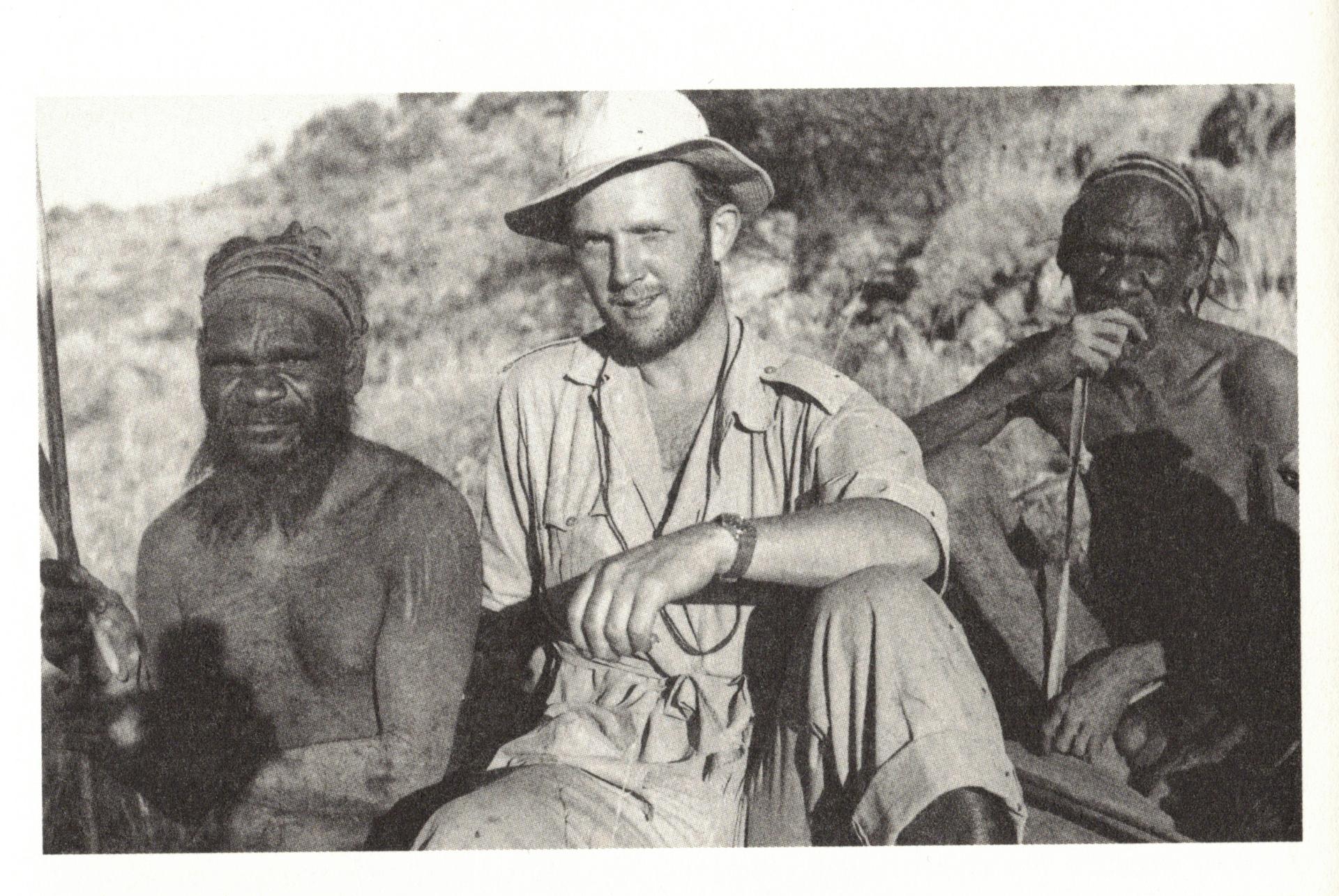 Jens Bjerre hos de aboriginals i Australien. Privatfoto.