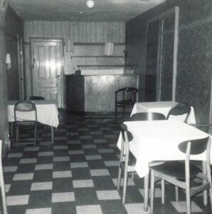 Interiør fra Parkhotellet, 1983