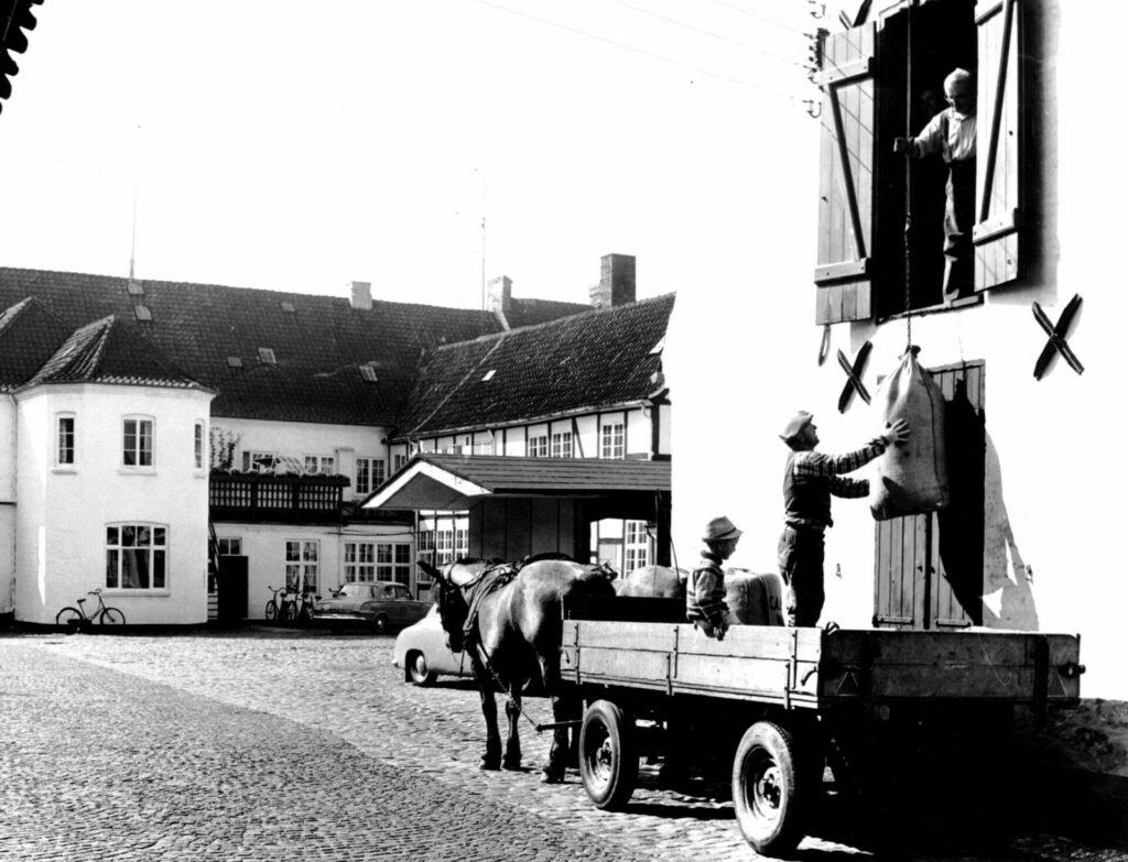 Qvades gård 1955
