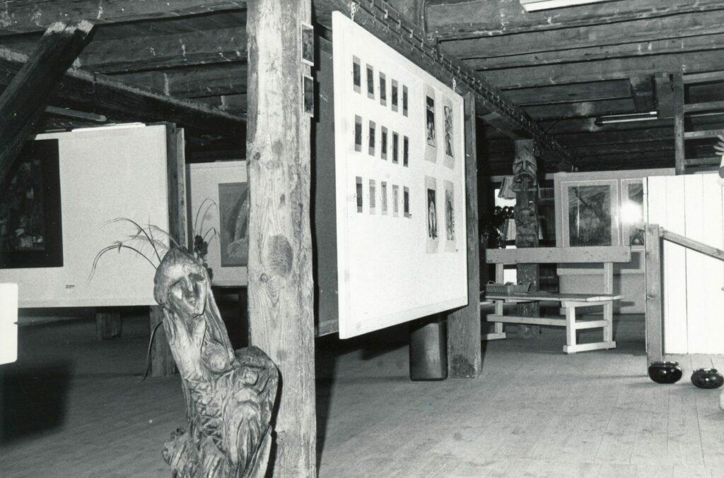 Kunstudstilling i Det gule Pakhus, 1992