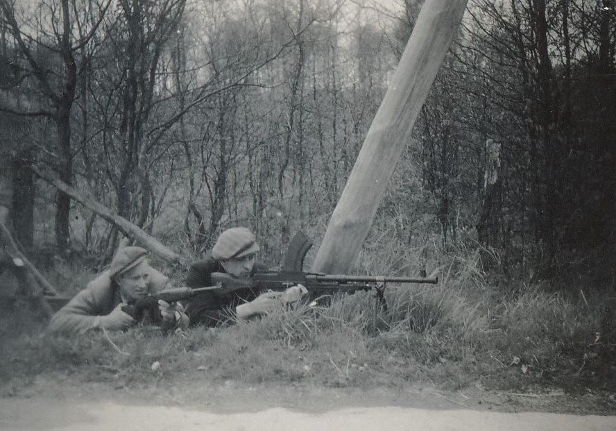 Modstandsfolk ved Bandholm 1945